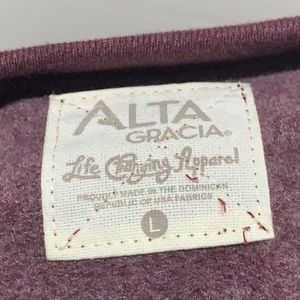 Alta Garcia Sweaters - Alta Gracia NCAA Harvard Crimson Crew Fleece Top